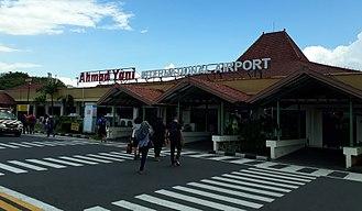Ahmad Yani International Airport - Image: Ahmad Yani Terminal