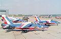 Air Tattoo International, RAF Boscombe Down - UK, June 13 1992 Patrouille de France (1).jpg