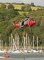 Air sea rescue display at Dartmouth Regatta (geograph 4150105).jpg