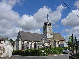 Aix-en-Issart - The church of Aix-en-Issart
