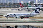 Alaska Airlines, Boeing 737-790(WL), N615AS - LAX (20234353161).jpg