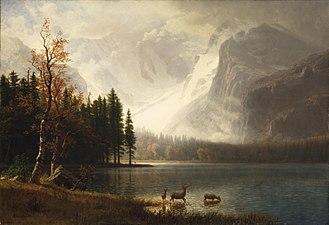 Bierstadt Lake - Image: Albert Bierstadt Estes Park, Colorado, Whyte's Lake