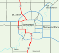 Alberta Highway 2 Edmonton Map.png