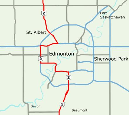 Alberta Highway 2 - Wikiwand