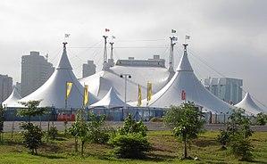 Alegría (Cirque du Soleil) - Alegria's Grand Chapiteau in São Paulo, Brazil. March 2008.
