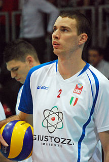 Alen Pajenk Slovenian volleyball player