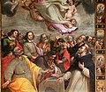 Alessio Gemignani, assunta con gli apostoli e san domenico tra i misetri del rosario 04.jpg
