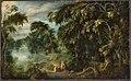 Alexander Keirincx - Baumlandschaft mit Ruhe auf der Flucht nach Ägypten - 6304 - Bavarian State Painting Collections.jpg