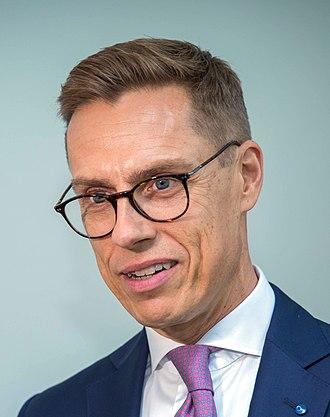 Alexander Stubb - Alexander Stubb in October 2018