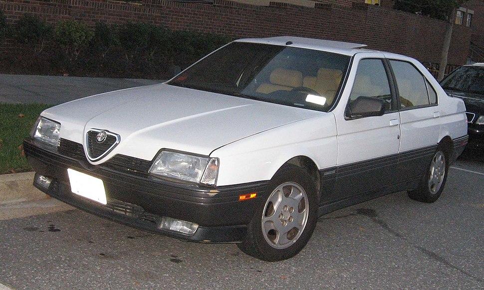Alfa-Romeo-164-front