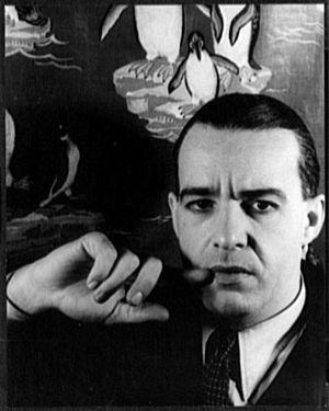 Alfred Lunt - photographed by Carl Van Vechten, 1932