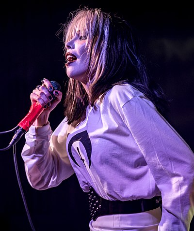 Picture of a band or musician: Alice Glass