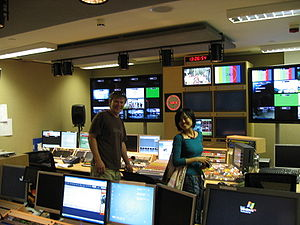 Al Jazeera Media Network - Al Jazeera's former Knightsbridge London Control Room