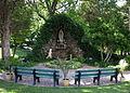 All Saints Catholic Church (St. Peters, Missouri) - Our Lady of Lourdes shrine.jpg