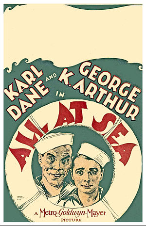 All at Sea (1929 film) - Film poster