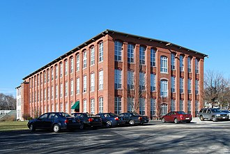 National Register of Historic Places listings in Providence County, Rhode Island - Image: Allendale Mill