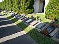 Alley of urns in Árpád Street's cemetery Hévíz, 2016 Hungary.jpg