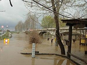 Alluvione Cardè 2 Aprile 2009