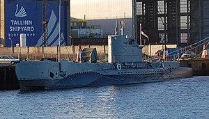 Seaplane Harbour - The submarine Lembit.