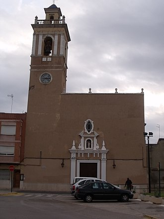 Almussafes - Image: Almussafes plaça major 02