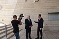Ambassador Friedman interviews to Ch10 and Ch 2 (28429513078).jpg