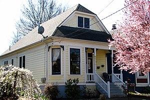 National Register of Historic Places listings in Northeast Portland, Oregon - Image: Ambruster Cottage Portland Oregon