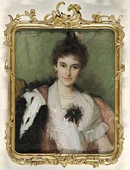 Portrait of Amelia Eliza van Leeuwen (1862-1923)