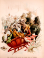 American Pioneer Life pg 212 The young hunter saved the sleigh from its danger.png