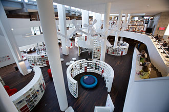 Binnenstad (Amsterdam) - Image: Amsterdam Openbare Bibliotheek 0038