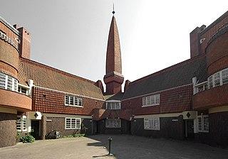 Het Schip museum in Amsterdam, Netherlands