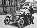 An episode of the war in Elizabeth Street during World War One, Brisbane (8862648222).jpg