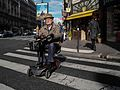 An old man, Rue d'Assas, Paris 6 October 2015.jpg