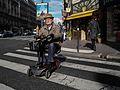 An old man, Rue d'Assas, Paris 6 October 2015.jpg