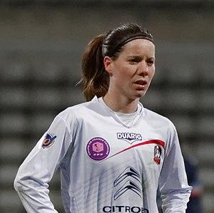 Anaïg Butel - Annaïg Butel during PSG-Juvisy (season 2012-2013)