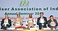 Ananth Kumar releasing the publication at the inauguration of the annual seminar of Fertilizer Association of India, in New Delhi. The Minister of State for Chemicals & Fertilizers, Shri Hansraj Gangaram Ahir (1).jpg