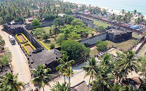 Anchuthengu Fort - Anchuthengu fort