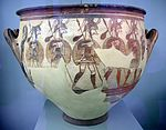 Ancient Greek pottery in the National Archaeological Museum in Athens 14.JPG