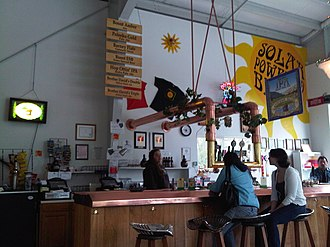 Anderson Valley Brewing Company - Inside of the Anderson Valley Brewing Company tasting room
