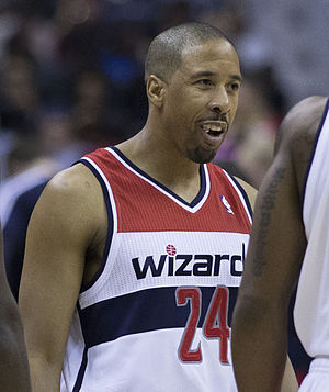 Andre Miller - Miller with the Wizards in February 2014