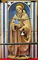 Andrea della robbia, madonna col bambino tra i ss. sebastiano e antonio abate (collez. rita d'annunzio lombardi) 04.JPG