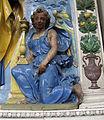 Andrea della robbia (bottega), altare, 1510-20, 04.JPG
