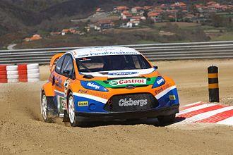 Olsbergs MSE - Image: Andreas Eriksson Ford Fiesta Rallycross 2009 002