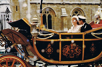 Prince Andrew, Duke of York - The Duke and Duchess of York on their wedding day.