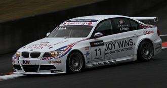 2010 World Touring Car Championship - Andy Priaulx (BMW 320si) placed fourth in the Drivers Championship