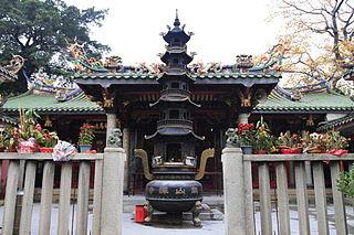 Longshan Temple (Jinjiang) Buddhist temple