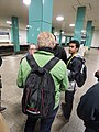 Anhalter Bahnhof durante tour de wikimedistas en Wikimedia Conference 2016 (7).jpg