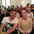 Annalisa Scarrone and Renzo Rubino - Festival Gaber 2013.jpg