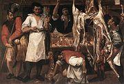 Annibale Carracci - Butcher's Shop - WGA04409