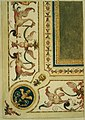 Anoniem, Detailontwerp voor de versiering van een plafond - Ébauche détaillée de décoration d'un plafond, KBS-FRB (CVH 474-5).jpg