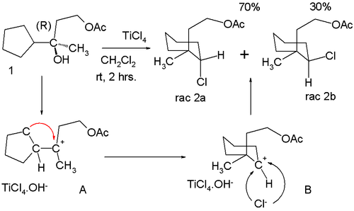 Anti-Markovnikov rearrangement